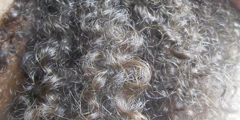 cheveux frisés texture